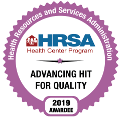 HRSA Award - Advancing Hit for Quality 2019